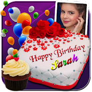 Photo On Birthday Cake With Name And Apps Google Play