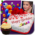 Photo On Birthday Cake APK for Bluestacks
