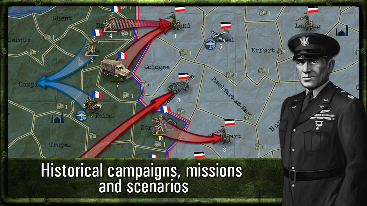 Strategy & Tactics: WW II Screenshot 1