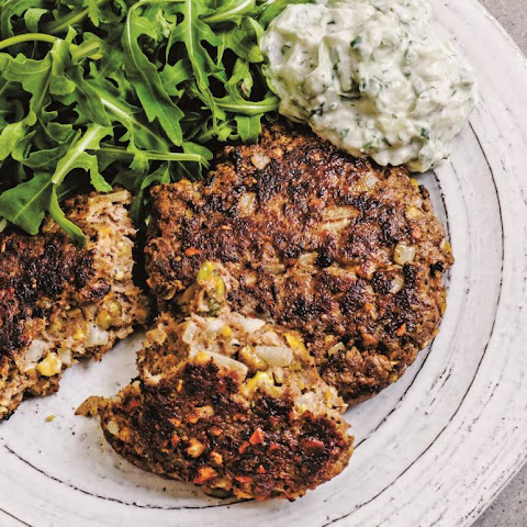 Lamb & Pistachio Patties
