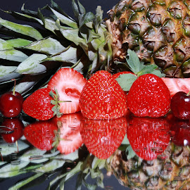 Fruit reflected by Peter Salmon - Food & Drink Fruits & Vegetables