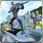 Download Hoverboard Sniper Shooter Team APK on PC
