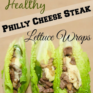 Philly Cheese Steaks Lettuce Wraps