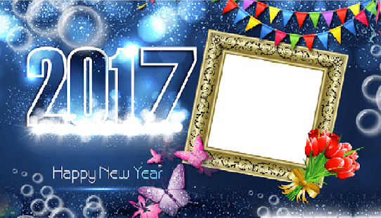 New Year Photo Frame 2017- screenshot