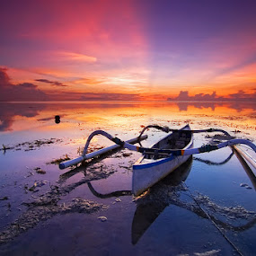 Karang Beach by Ichsan Photoworks II - Landscapes Sunsets & Sunrises