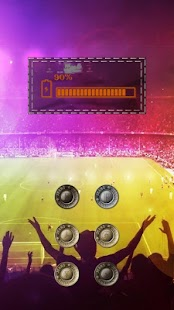 Exciting football game theme - screenshot