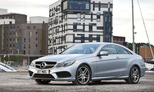 MERCEDES E CLASS COUPE  for hire