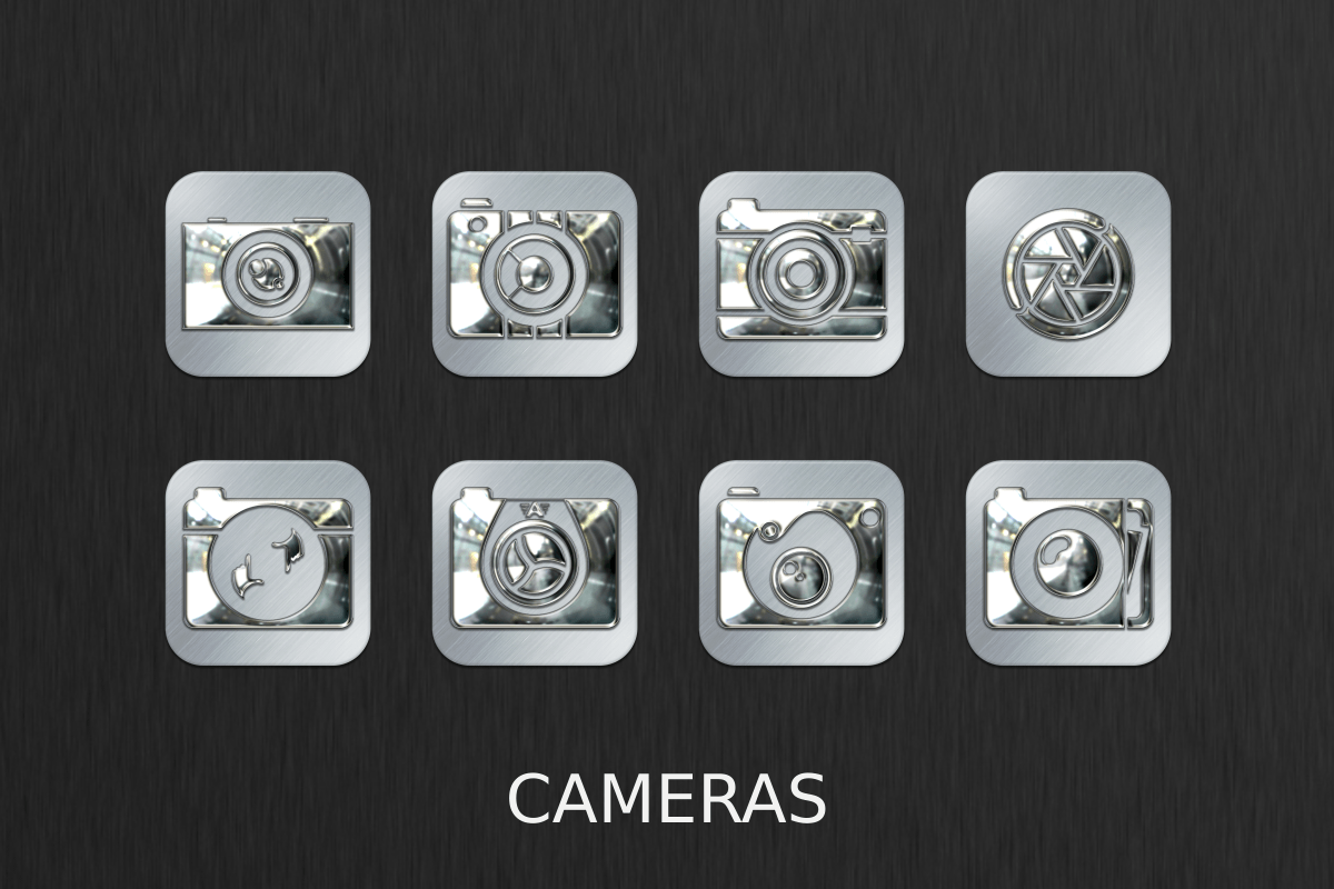 Silver Chrome Icon Pack Screenshot 2