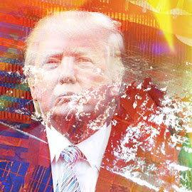 Donald Trump 2016 by Austin Lubetkin - Digital Art People