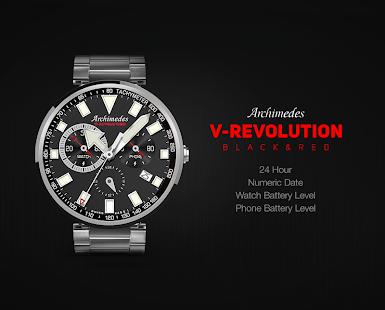 V-Revolution Black&Red by