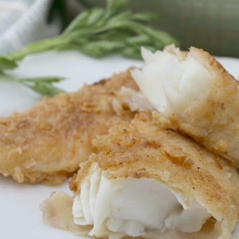 Gluten Free Fried Fish Sticks