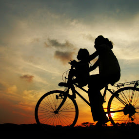 WITH MOM by Edi Wibowo - Transportation Bicycles