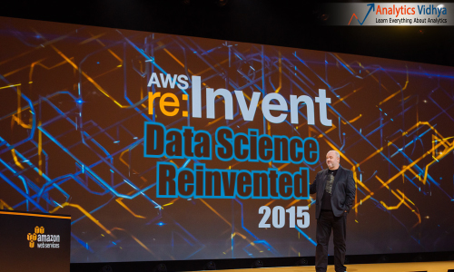 How Amazon re-invented Data Science at Amazon AWS re:Invent 2015?
