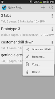 Screenshot of Quick Proto