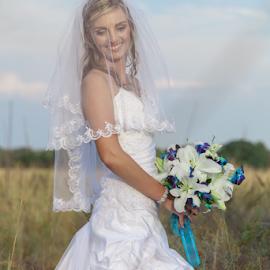 Smile by Lodewyk W Goosen-Photography - Wedding Bride ( wedding photography, marriage photography, wedding, weddings, marriage, bride )