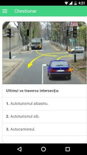 Teste Examen Auto (100 Intreb) - screenshot