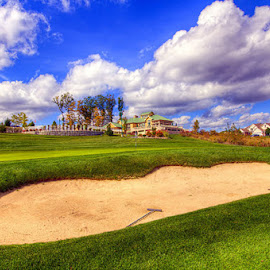 trapped under clouds by JERry RYan - Sports & Fitness Golf