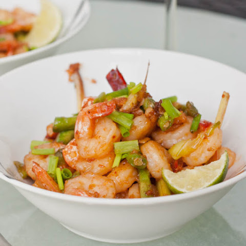 Shrimp with Roasted Chili Paste Sauce