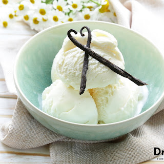 Raw Vanilla Ice Cream