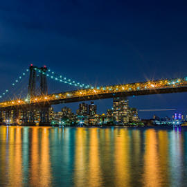 manhattas bridge  by Roman Gomez - City,  Street & Park  Skylines ( www.roman-photography.com,  )