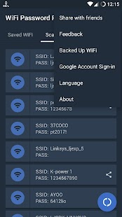 App Free WiFi Password Recovery apk for kindle fire