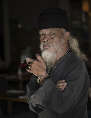 Old Man by Dot's Grpah - People Portraits of Men