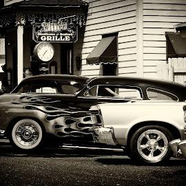by Alan Cromer - City,  Street & Park  Street Scenes