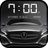Free Cars Clock Wallpaper APK for Windows 8
