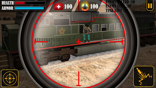 Train Attack 3D - screenshot