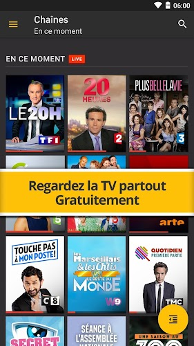 Molotov - TV en direct, replay Android App Screenshot