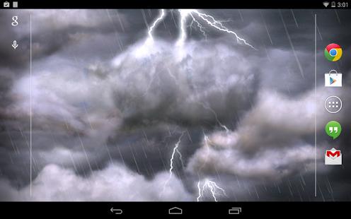 Thunderstorm Live Wallpaper for pc