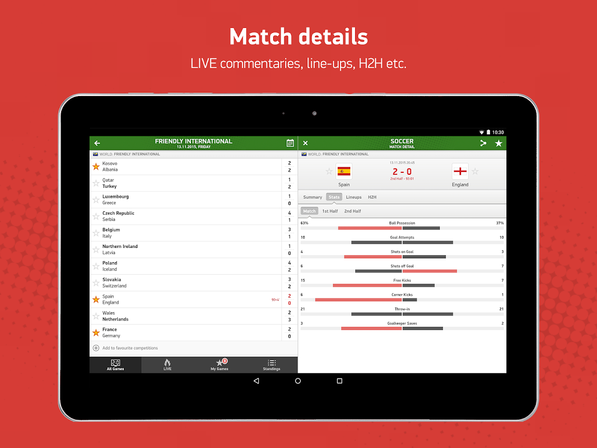 FlashScore Screenshot 7