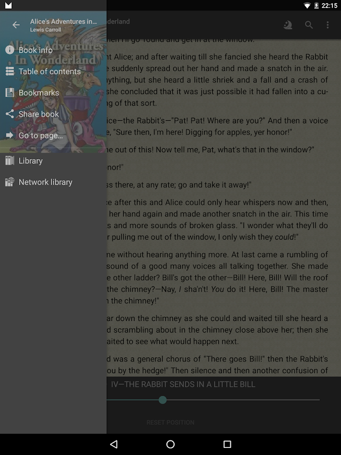 FBReader: Favorite Book Reader Screenshot 10