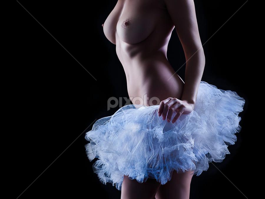 White Tutu by Marie Otero - Nudes & Boudoir Artistic Nude ( art nude, female )