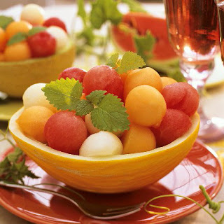 Rum Melon Balls recipe – 131 calories