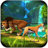 Game Lion Hunt Jungle:Sniper Axtion apk for kindle fire