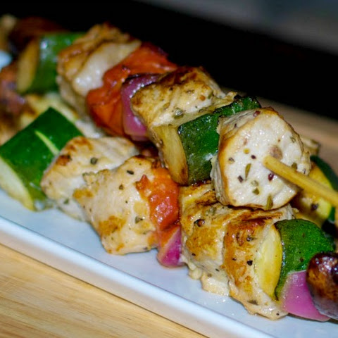 Rosemary Grilled Pork Skewers