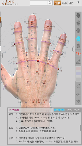 Hand Acupuncture screenshot for Android
