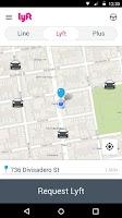Screenshot of Lyft - Taxi & Bus Alternative