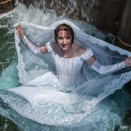 Amy 02 by Carter Keith - Wedding Bride ( rock the frock, wedding dresses, brides, wet brides, trash the dress )