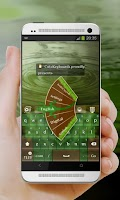 Screenshot of Green lizard GO Keyboard