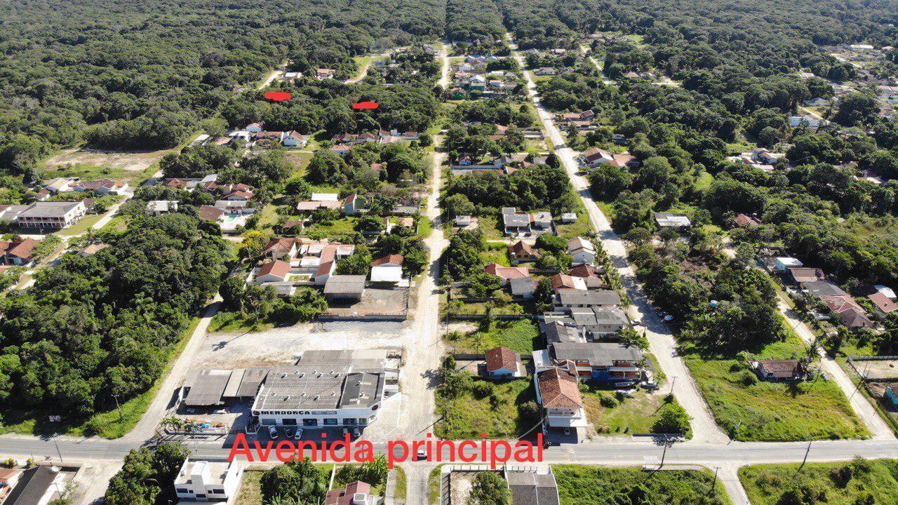 Terreno à venda, 384 m² por R$ 40.000,00 - Uirapuru - Itapoá/SC