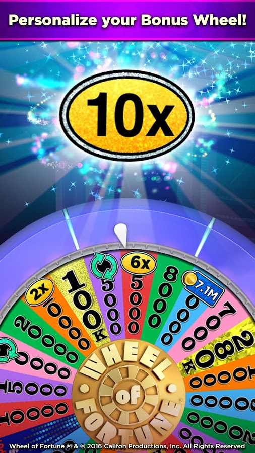 Wheel of Fortune Slots Casino Screenshot 3