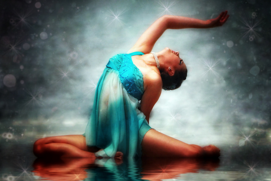 Dance on a Reflection II by Kelli Lauck - Digital Art People