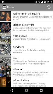 citylife fitness - screenshot