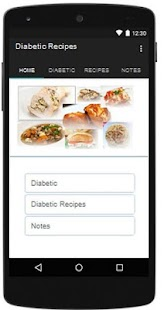 Diabetic Recipes Healthy Food - screenshot
