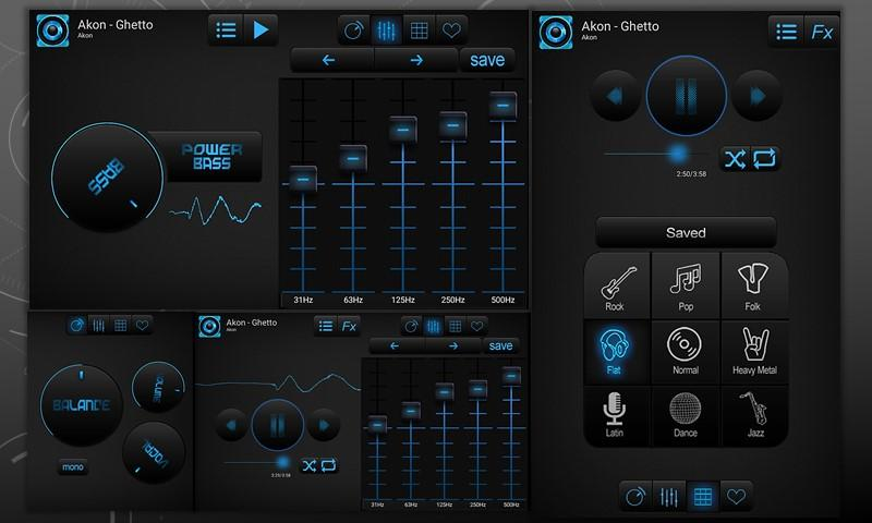 Bass Booster and Equalizer Pro Screenshot