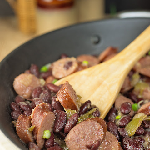 Red Beans and Rice with Sausage Skillet Meal
