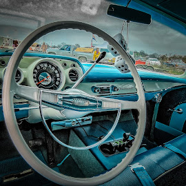Classic Dashboard by Ron Meyers - Transportation Automobiles
