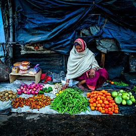 by Nayan Shaurya - City,  Street & Park  Street Scenes